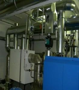 Verteilerstation Blechmantelisolierung mit abnehmbarer Ventil-Isolierung